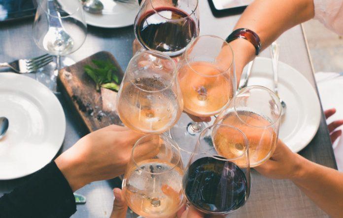abbianamento vino