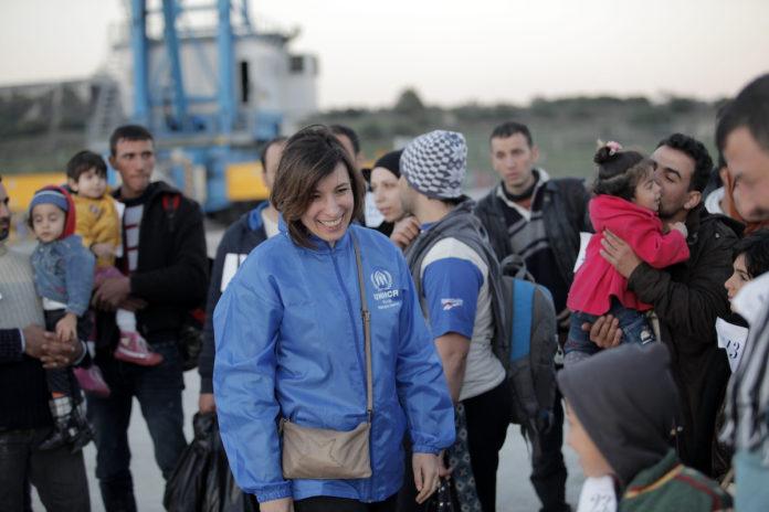 Carlotta Sami UNHCR