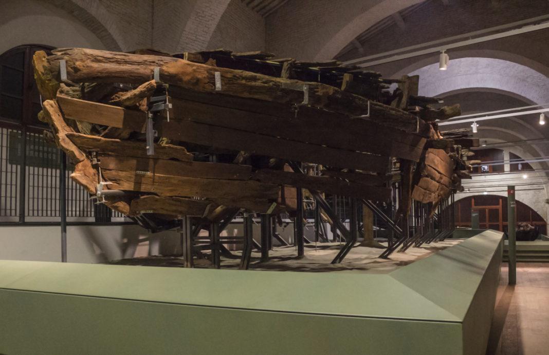 Le navi romane in mostra a Pisa
