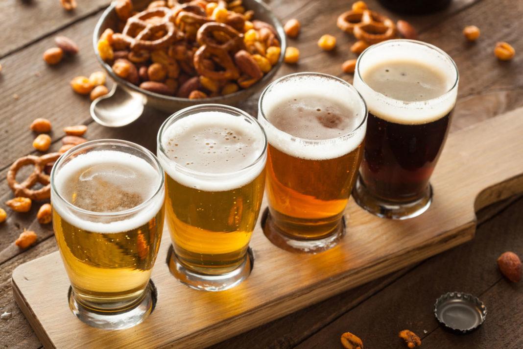 La birra artigianale del birrificio L'Olmaia