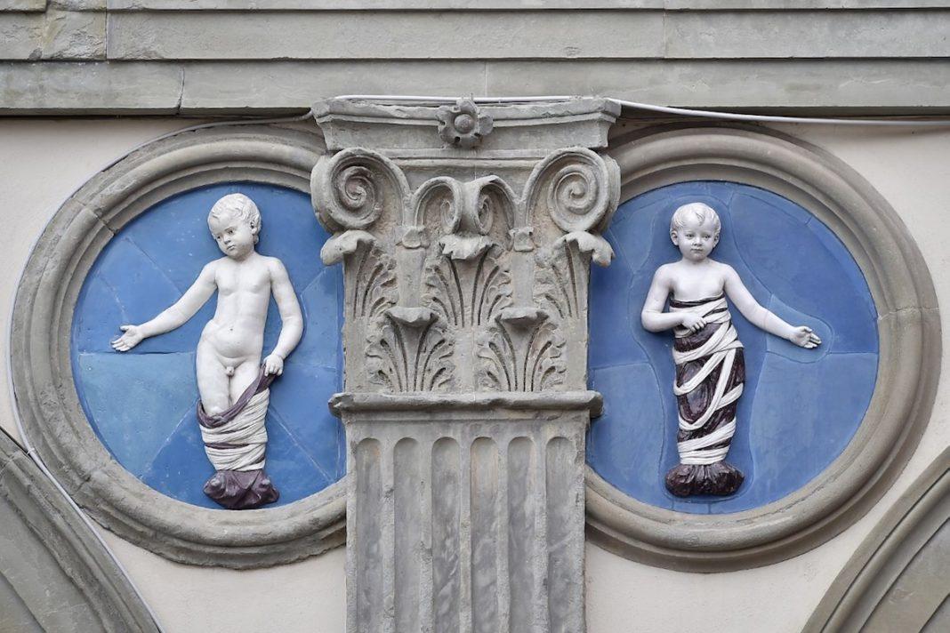 Al Museo degli Innocenti di Firenze