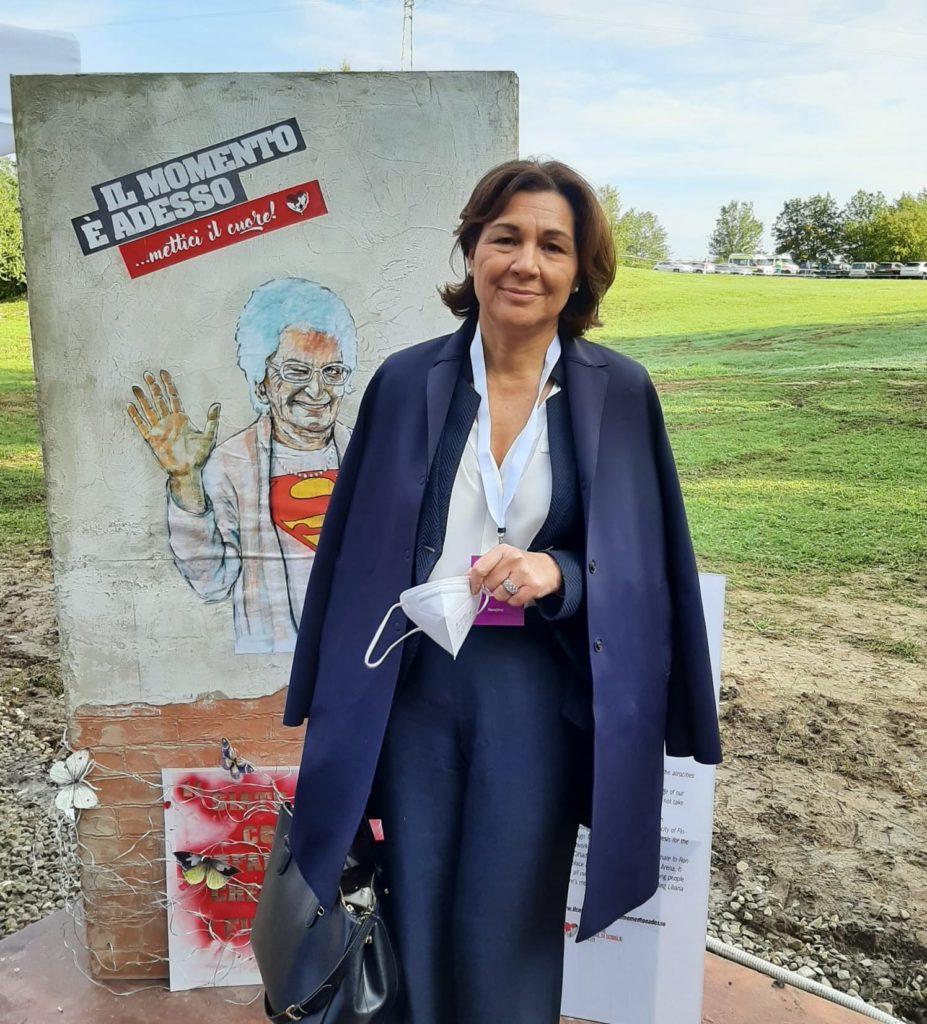 """""""Grazie Lilliana"""" oggi l'ultima testimonianza pubblica di Liliana Segre a Rondine alle scuole italiane e ai giovani"""