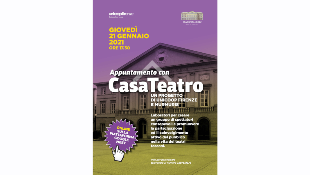 Casateatro on line a Lucca