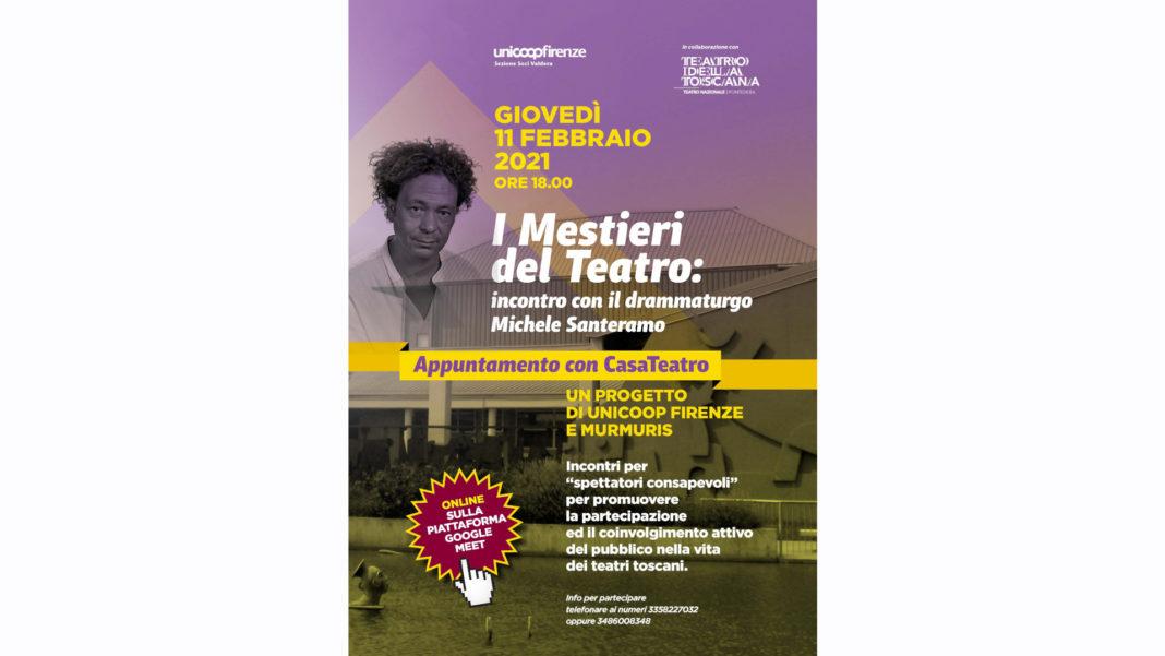Casateatro: incontro con Michele Santeramo