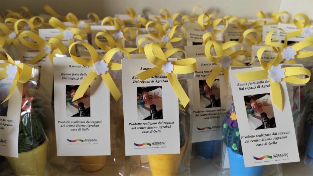 8 marzo: l'omaggio floreale dell'associazione Agrabah alle dipendenti del Coop.fi