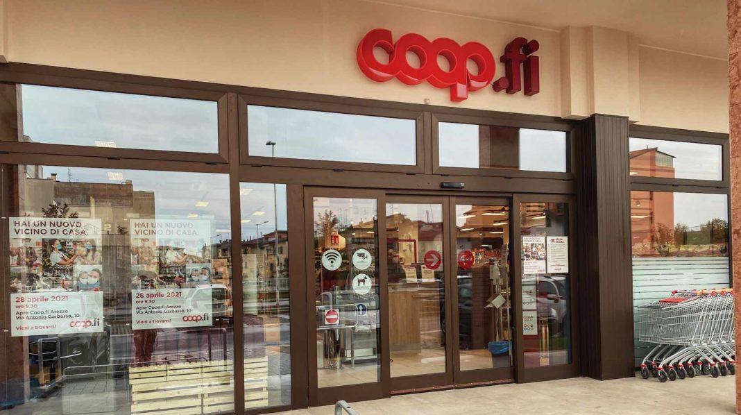 Il nuovo Coop.fi di Arezzo via Garbasso