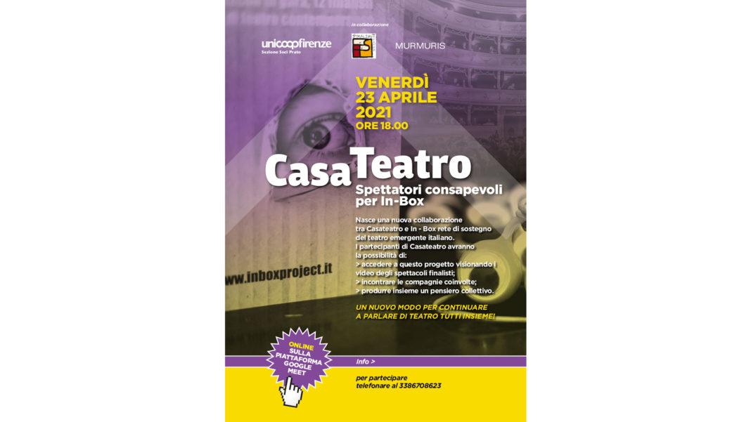 Casateatro: spettatori consapevoli per In-Box a Prato