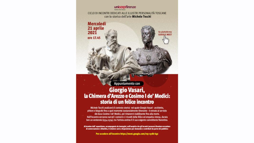 Giorgio Vasari e Cosimo de' Medici