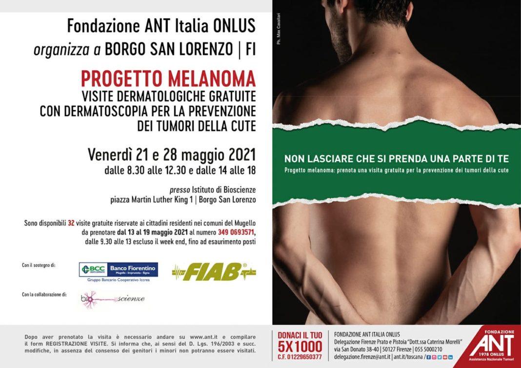 Borgo San Lorenzo progetto melanoma