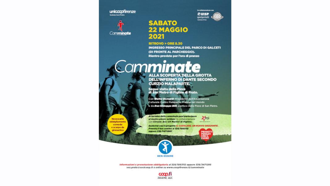 camminata Prato 22 maggio
