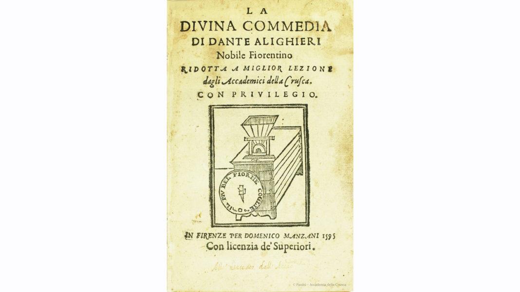 Dante, la Commedia e il Vocabolario della Crusca