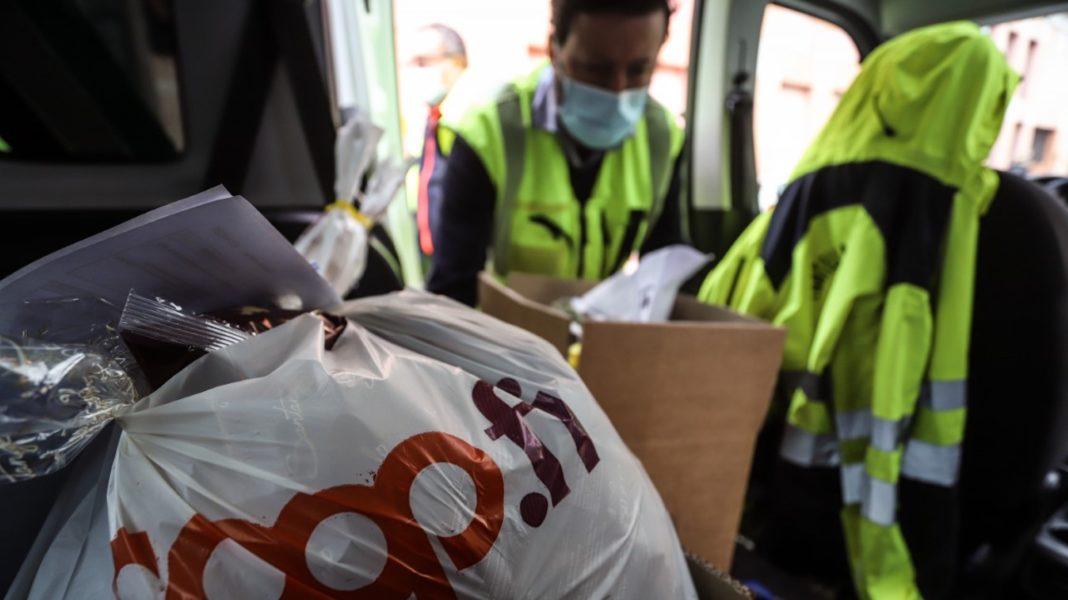 SOS SPESA: QUASI 6MILA SPESE CONSEGNATE A CASA DEI PIU FRAGILI