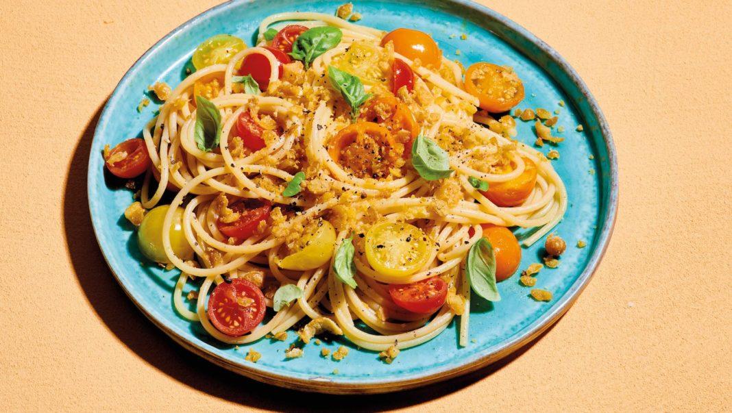 ricetta pasta con pomodorini