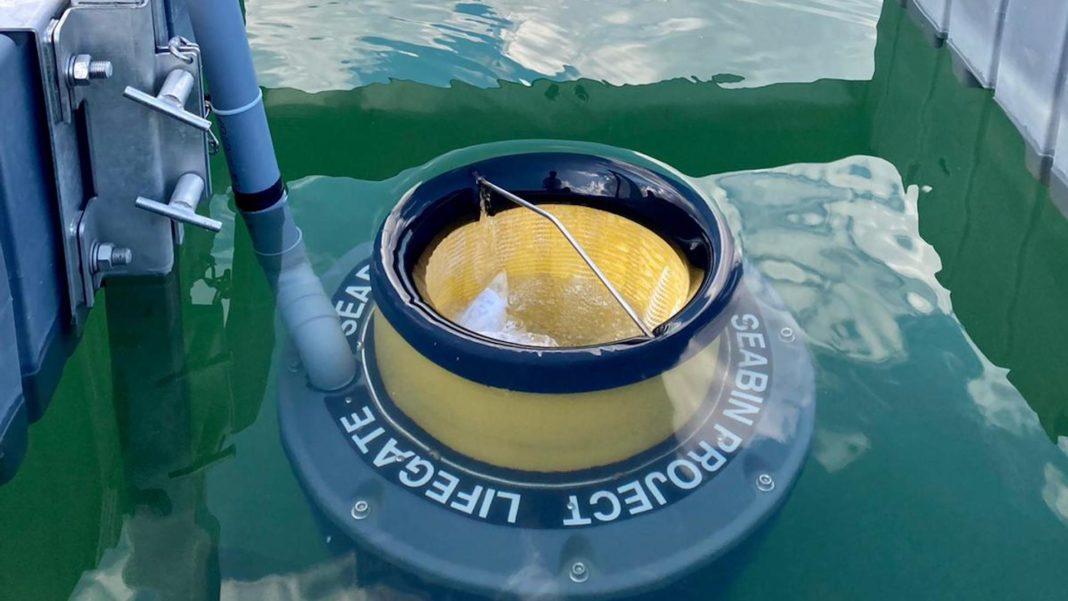 Arriva il Seabin sul Lago di Bilancino