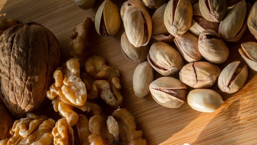 Biscotti noci e pistacchi